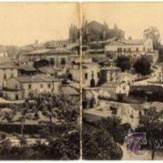 Postales: BONITA POSTAL DOBLE - PLASENCIA (CACERES) - VISTA GENERAL - PAPELERÍA, JOSÉ HONTIVEROS . Lote 37321302