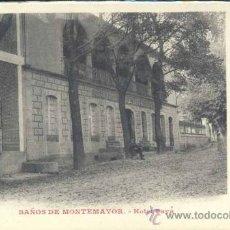 Postales: BAÑOS DE MONTEMAYOR (CACERES).- HOTEL PAYÁ. Lote 36120957