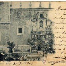 Postales: BONITA POSTAL - BADAJOZ - LA CATEDRAL. Lote 36360944