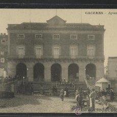 Postales: CACERES - AYUNTAMIENTO - J. BIENAIME - (15.019). Lote 36821632
