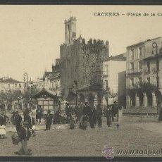 Postales: CACERES - PLAZA DE LA CONSTITUCION - J. BIENAIME - (16.440). Lote 37606667