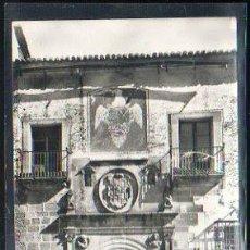 Postales: TARJ. POSTAL DE CACERES - PALACIO DE HERNANDO DE OVANDO. 6. HELIOTIPIA ARTISTICA ESPAÑOLA. Lote 37666460