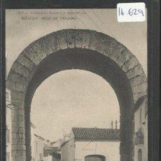 Postales: MERIDA - 3 - ARCO DE TRAJANO - BOCCONI - (16629). Lote 37805078