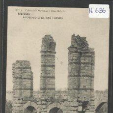 Postales: MERIDA - 3 - ACUEDUCTO DE SAN LAZARO - HAUSER Y MENET - (16636). Lote 37805356