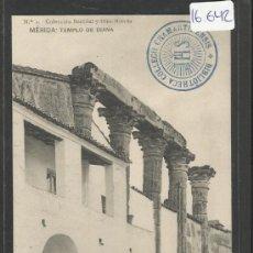 Postales: MERIDA - 1 - TEMPLO DE DIANA - HAUSER Y MENET - (16642). Lote 37805484