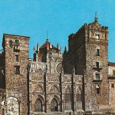 Postales: GUADALUPE. MONASTERIO, FACHADA PRINCIPAL, EDITOR: GARCIA GARRABELLA Nº 16. Lote 38275779