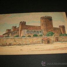 Postales: ZAFRA BADAJOZ CASTILLO DEL DUQUE DE FERIA TARJETA LIBRERIA HERNANDO MADRID. Lote 38318896