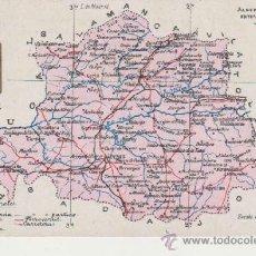 Postales: TARJETA POSTAL MAPA DE CACERES,ALBERTO MARTIN EDITOR-BARCELONA. Lote 38752254