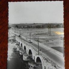 Postales: ANTIGUA FOTO POSTAL DE MERIDA - N. 19 - PUENTE ROMANO - NO CIRCULADA - ED. RODRIGUEZ.. Lote 39605736