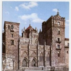 Postales: GUADALUPE - FACHADA PRINCIPAL DEL TEMPLO DE LA HISPANIDAD. Lote 40414167