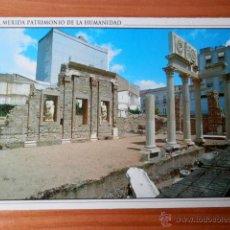 Postales: RINCÓN DEL FORO MUNICIPAL. MÉRIDA PATRIMONIO DE LA HUMANIDAD. MÉRIDA 9 - FRANCISCO RASTROLLO. Lote 37200324