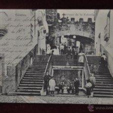 Postales: ANTIGUA POSTAL DE CACERES. ARQUO DE LA ESTRELLA. CIRCULADA. Lote 41004053