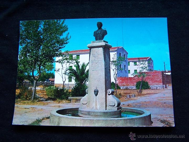 POSTAL SIN CIRCULAR ED F.I.T.E.R NAVALMORAL DE LA MATA CÁCERES MONUMENTO D.CASTO LOZANO (Postales - España - Extremadura Moderna (desde 1940))