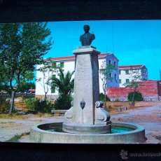 Postales: POSTAL SIN CIRCULAR ED F.I.T.E.R NAVALMORAL DE LA MATA CÁCERES MONUMENTO D.CASTO LOZANO. Lote 41695562