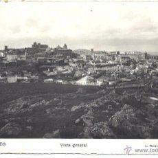 Postales: PS4118 CÁCERES 'VISTA GENERAL'. L. ROISIN. CIRCULADA EN 1962. Lote 152135892