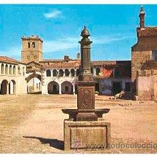 Postales: CACERES GARROVILLAS PLAZA FISA ESCUDO DE ORO Nº 1. SIN CIRCULAR. Lote 132401853
