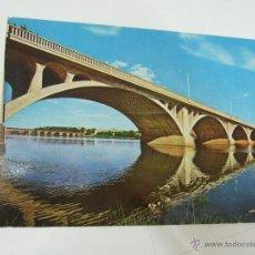 Postales: POSTAL BADAJOZ - PUENTES SOBRE EL RIO GUADIANA - 1967 - ESCRITA SIN CIRCULAR - 10752. Lote 43395339
