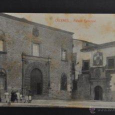 Postales: ANTIGUA POSTAL DE CACERES. PALACIO EPISCOPAL. ED. VIUDA DE MANUEL CILLEROS. SIN CIRCULAR. Lote 43970159