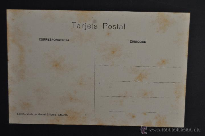 Postales: ANTIGUA POSTAL DE CACERES. EXTREMADURA. IGLESIA DE SANTA MARIA. SIN CIRCULAR - Foto 2 - 43970311