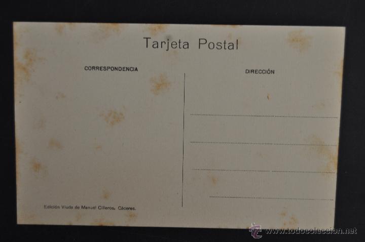 Postales: ANTIGUA POSTAL DE CACERES. EXTREMADURA. TORRE DE LOS CACERES. SIN CIRCULAR - Foto 2 - 43970335