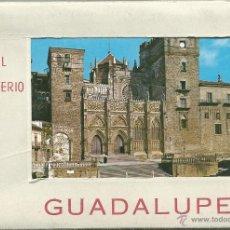 Postales: POSTALES BLOC DE 10 TARJETAS DEL REAL MONASTERIO DE GUADALUPE EN CACERES . Lote 44193577