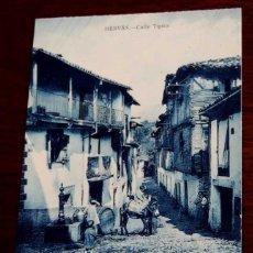 Postales: POSTAL DE HERVÁS (CACERES) CALLE TIPICA, EDICION LIBRERIA RONCERO, SIN CIRCULAR, . Lote 44625306