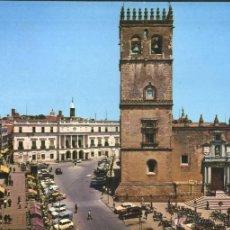 Postales: BADAJOZ - PLAZA DE ESPAÑA. Lote 44787691