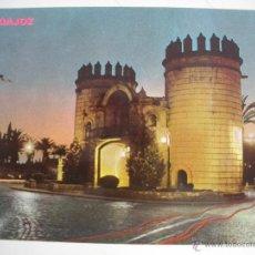 Postales: MAGNIFICA POSTAL DE - BADAJOZ -PUERTA DE PALMA -. Lote 44820609