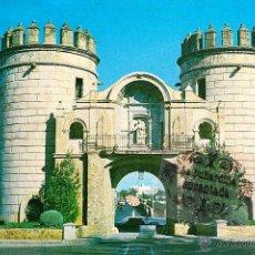 Postales: POSTAL - BADAJOZ - PUERTA DE PALMA - CIRCULADA CON SELLO 1972. Lote 44900965