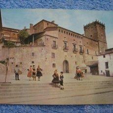 Cartoline: POSTAL ANTIGUA. PLASENCIA. PALACIO MARQUES DE MIRABEL. ARRIBAS. NUM. 2015. AÑO 1965. Lote 44970744