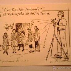 Postales: POSTAL RECORDATORIO DEL FOTÓGRAFO EMILIO VIDARTE. 1986. Lote 45383715