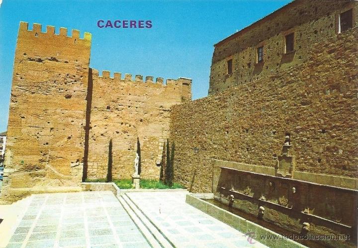 == P08 - POSTAL - CACERES - EL FORO DE LOS BALBOS - SIN CIRCULAR (Postales - España - Extremadura Moderna (desde 1940))