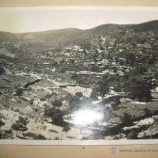 Postales: OVEJUELA LAS HURDES CACERES VISTA ANTIGUA POSTAL FOTOGRAFICA 1948. Lote 46403753