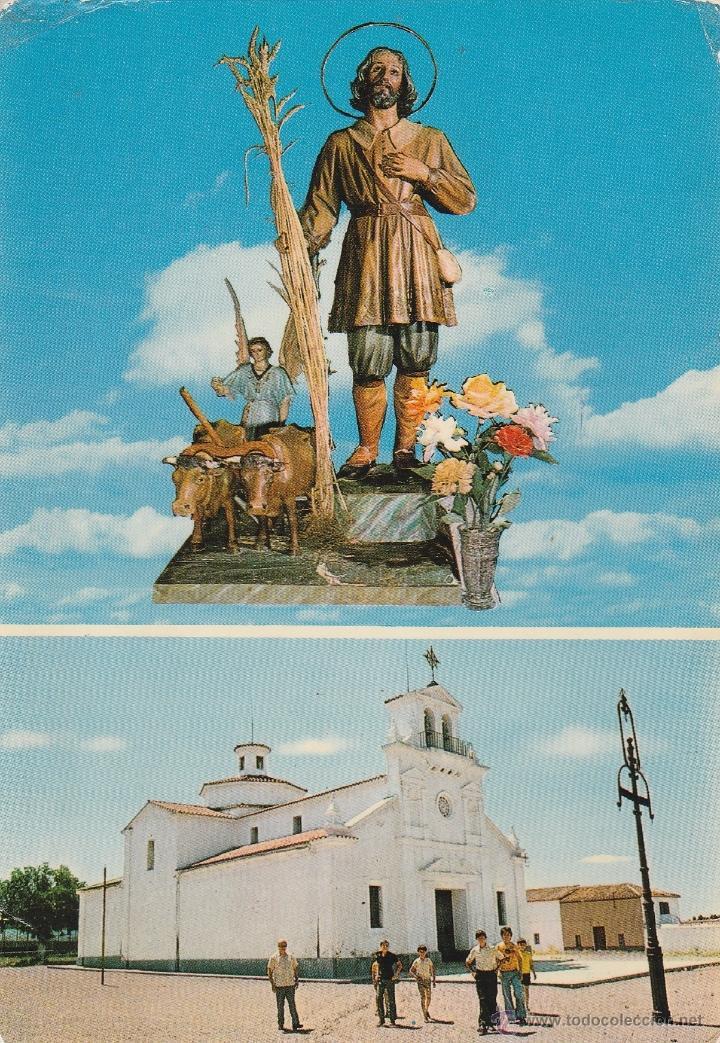 Nº 18287 POSTAL GRANJA DE TORREHERMOSA BADAJOZ SAN ISIDRO LABRADOR PATRON (Postales - España - Extremadura Moderna (desde 1940))