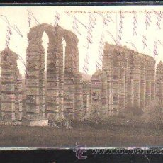 Postales: TARJETA POSTAL DE MERIDA - ACUEDUCTO ROMANO. LOS MILAGROS.. Lote 46443819