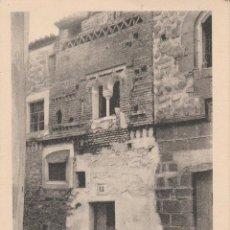 Postales: Nº 18642 POSTAL CACERES CASITA MUZARABE EDICION EULOGIO BLASCO. Lote 46498413