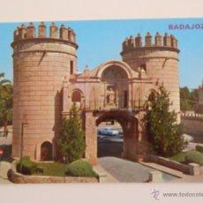 Postales: BADAJOZ: PUERTA PALMA. Lote 46799080