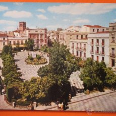 Postales: POSTAL - BADAJOZ - PLAZA CERVANTES - ARRIBAS - NO CIRCULADA. Lote 114321146