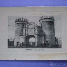 Postales: POSTAL DE BADAJOZ. AÑOS 20 40. PUERTA DE PALMAS. EDITOR VICENTE RODRÍGUEZ. 854. Lote 48823464