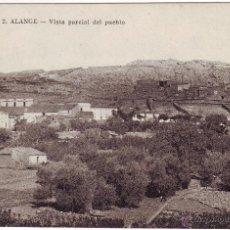 Postales: PB-25 ALANGE. VISTA PARCIAL DEL PUEBLO. Lote 48932053