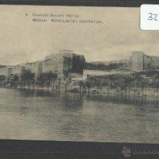 Postales: MERIDA - 6 - MURALLAS DEL CONVENTUAL - COL· BOCCONL - HAUSER Y MENET - (32272). Lote 49317508