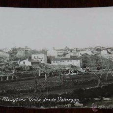 Postales: FOTO POSTAL DE VALENCIA DE ALCANTARA (CACERES), VISTA DESDE VALUENGO, EDICION SANCHEZ LUIS, 1ª SERIE. Lote 50348010