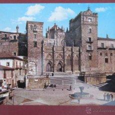 Cartes Postales: GUADALUPE. PLAZA FACHADA MONASTERIO.. Lote 51110601