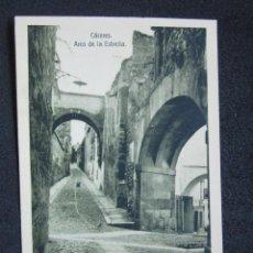 Postales: POSTAL CÁCERES. ARCO DE LA ESTRELLA. EDICIÓN EULOGIO BLASCO. HELIOTIPIA ARTÍSTICA IBÉRICA, TORRIJOS.. Lote 51119119