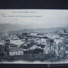 Postales: POSTAL BADAJOZ. ZAFRA. VISTA DESDE TORREONES DEL PALACIO. SERIE A. FOT. LAURENT. PRIMERA EDICIÓN. . Lote 51120052