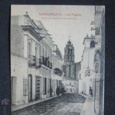 Postales: POSTAL BADAJOZ. ALMENDRALEJO. CALLE PALACIOS. . Lote 51120098