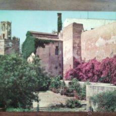 Postales: TORRE DE ESPANTAPERROS DESDE LA ALCAZABA.. Lote 51159717