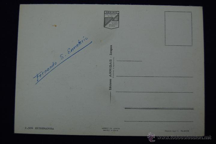 Postales: POSTAL DE EXTREMADURA (CACERES Y BADAJOZ). ASI ES EXTREMADURA. AÑOS 60. - Foto 2 - 51378666