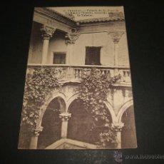 Postales: TRUJILLO CACERES PALACIO DE ORELLANA Y PIZARRO, CONOCIDO POR LA TAH ED. TIP. SOBRINO DE B. PEÑA Nº 8. Lote 51651125