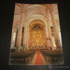 Postales: OLIVENZA BADAJOZ INTERIOR IGLESIA PARROQUIAL. Lote 52341139
